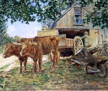 Oxen - Theodore Robinson