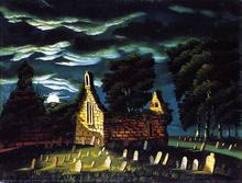 Old Sleepy Hollow Church - Thomas Chambers