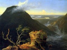 Sunny Morning on the Hudson River - Thomas Cole