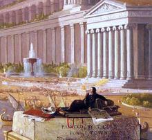 The Architect's Dream (detail) - Thomas Cole