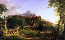 The Departure - Thomas Cole