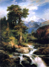 Solitude - Thomas Moran