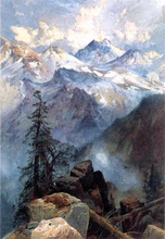 Mountains and Cliffs Paintings