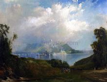 View of Fairmont Waterworks, Philadelphia - Thomas Moran
