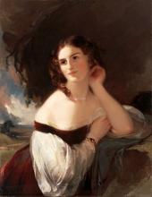Portrait of Fanny Kemble