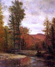 Adirondack Woodland with Two Deer - Thomas Worthington Whittredge