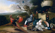 Parkland Setting with Birds - Tobias Stranover