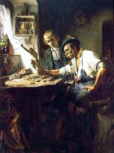 Woodcarver of Obermmergau - Toby Edward Rosenthal