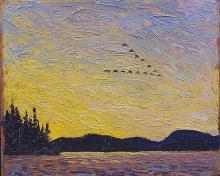 Round Lake Mud Bay - Tom Thomson