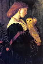 Il Barbagianni - Valentine Cameron Prinsep