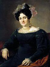 Portrait of P.I. Sapoznikova