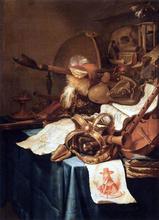 Vanitas with a Royal Crown