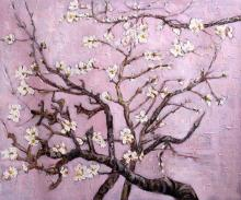 Branches with Almond Blossom - Lavender