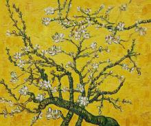 Branches with Almond Blossom - Yellow