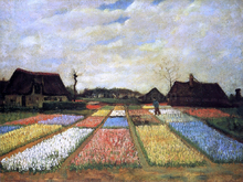 A Bulb Field (also known as Flower Beds in Holland) - Vincent Van Gogh