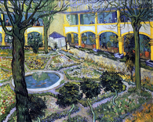 Courtyards Paintings