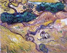 Field with Two Rabbits - Vincent Van Gogh