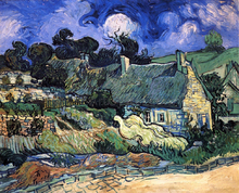 A House with Thatched Roofs, Cordeville