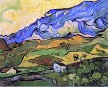 Les Alpilles, Mountain Landscape near South-Reme