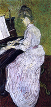 Marguerite Gachet at the Piano - Vincent Van Gogh