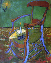 Paul Gauguin's Armchair - Vincent Van Gogh