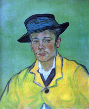 A Portrait of Armand Roulin - Vincent Van Gogh