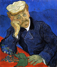 A Portrait of Doctor Gachet - Vincent Van Gogh