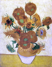 A Still Life with Sunflowers