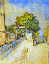 The Entrance of a Belvedere - Vincent Van Gogh