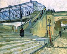 The Trinquetaille Bridge - Vincent Van Gogh