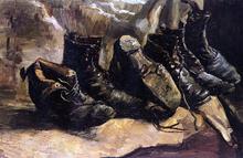 Three Pair of Shoes - Vincent Van Gogh
