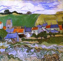 View of Auvers - Vincent Van Gogh