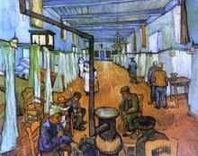 Ward in the Hospital at Arles - Vincent Van Gogh