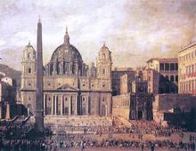 St Peter's, Rome - Viviano Codazzi