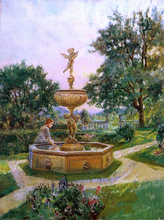 Spring Fountain - Will Hicok Low