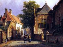View of Amsterdam - Willem Koekkoek