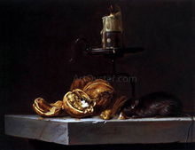 Still-Life with Mouse and Candle - Willem Van Aelst