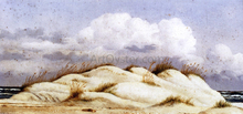 Sand Dunes and Clouds, Florida