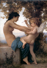 A Young Girld Defending Her Eros