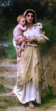 Lambs - William Adolphe Bouguereau