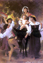 Return from the Harvest - William Adolphe Bouguereau