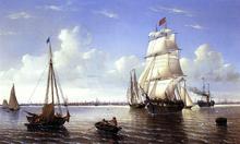 Boston Harbor - William Bradford