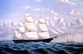 Clipper Ship 'Northern Light' of Boston