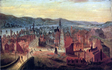 Pittsburgh after the Fire, 1845, from Boyd's Hill