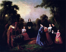 The Burial of Latane - William D Washington