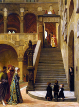 An Appeal to the Podesta - William Frederick Yeames