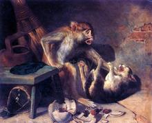 Monkeys Paintings