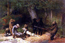 Making Game of the Hunter - William Holbrook Beard