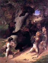 The March of Selenus - William Holbrook Beard
