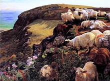 Our English Coasts - William Holman Hunt